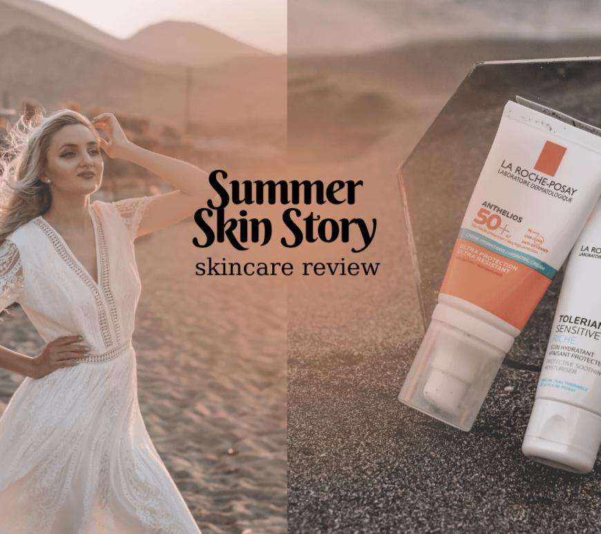 skincare review la roche posay toleriane spf sunscreen